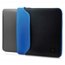 Pouzdro na notebook HP 14'', Neoprene Sleeve, černá/modrá
