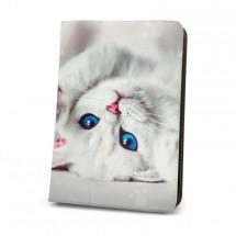 """Pouzdro na tablet 7-8"""" GreenGo Cute Kitty (LCSCKUN7)"""