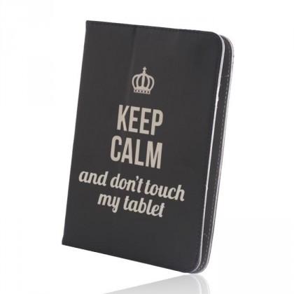 "Pouzdro na tablet 7-8"" GreenGo Keep Calm (LCSKCUN7BK)"