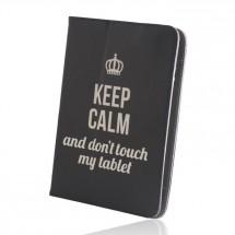 """Pouzdro na tablet 9-10"""" GreenGo Keep Calm (LCSKCUN9BK)"""