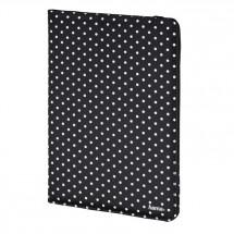 """Pouzdro na tablet Hama Polka Dot, do 20,3 cm (8""""), černé"""