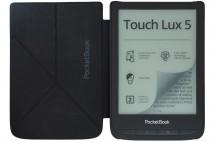 Pouzdro Pocketbook Origami U6XX Shell O series, tm. Šedé