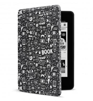 Pouzdro pro Amazon Kindle Paperwhite 4, doodle