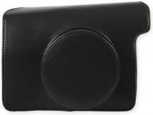Pouzdro pro Instax Mini 300, kožené, černá