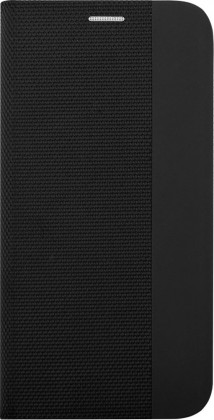 Pouzdro pro Motorola Edge Plus, Flipbook Duet, černá