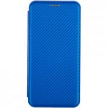 Pouzdro pro Samsung Galaxy A10, Evolution Karbon, modrá