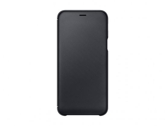 Pouzdro pro Samsung Galaxy A6, flip, originál, černá