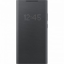 Pouzdro pro Samsung Galaxy Note 20 Ultra, LED view flip, černá