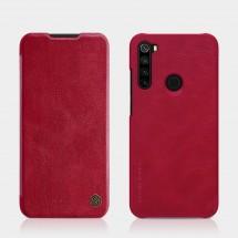 Pouzdro pro Xiaomi Redmi Note 8, kožený, červená