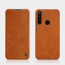 Pouzdro pro Xiaomi Redmi Note 8, kožený, hnědá