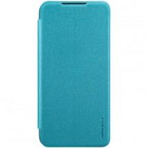 Pouzdro pro Xiaomi Redmi Note 8, kožený, modrá