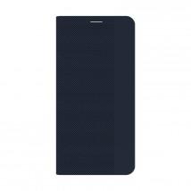 Pouzdro Samsung Galaxy A12, Flipbook, tmavá modrá