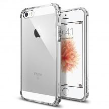 Pouzdro SPIGEN Crystal Shell iPhone SE/5s/5 čiré