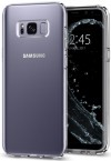 Pouzdro SPIGEN Liquid Crystal Samsung Galaxy S8 čiré