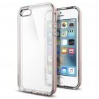 Pouzdro SPIGEN Neo Hybrid Crystal iPhone SE/5s/5 růžová