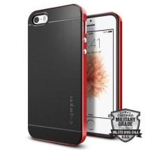 Pouzdro SPIGEN Neo Hybrid iPhone SE/5s/5 červené