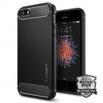Pouzdro SPIGEN Rugged Armor iPhone 5/SE černé