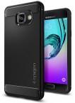 Pouzdro SPIGEN Rugged Armor Samsung Galaxy A3 (2016) černé