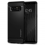 Pouzdro SPIGEN Rugged Armor Samsung Galaxy Note 8 černé ROZBALENO