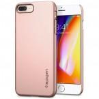 Pouzdro SPIGEN Thin Fit iPhone 7/8 Plus růžové