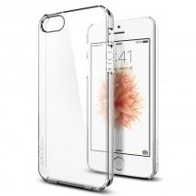 Pouzdro SPIGEN Thin Fit iPhone SE/5s/5 čiré