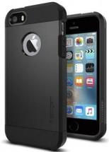 Pouzdro SPIGEN Tough Armor iPhone SE/5/5s černé