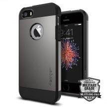 Pouzdro SPIGEN Tough Armor iPhone SE/5/5s metalické