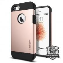 Pouzdro SPIGEN Tough Armor iPhone SE/5/5s růžové