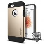 Pouzdro SPIGEN Tough Armor iPhone SE/5/5s zlatá