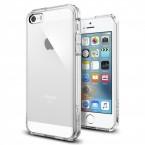 Pouzdro SPIGEN Ultra Hybrid iPhone SE/5s/5 čiré