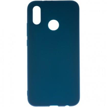 Pouzdro TPU Matt Huawei P20 lite/blue