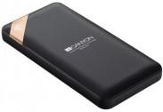 Powerbanka Canyon 10000mAh, Li-Pol, displej,  Smart IC, černá