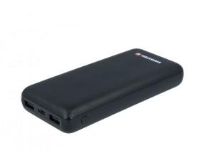 Powerbanka SWISSTEN 20000 mAh, Li-Pol, 2xUSB/USB Typ C/micro USB