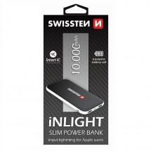 Powerbanka Swissten Slim 10000mAh, Li-pol, černá