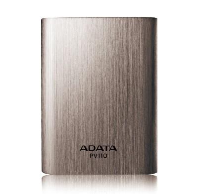 Powerbanky ADATA PV110 Power Bank 10400mAh, titanová