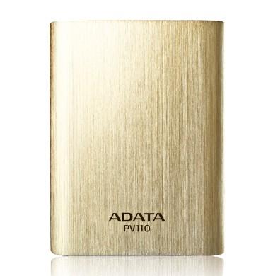Powerbanky ADATA PV110 Power Bank 10400mAh, zlatá
