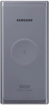 Powerbanky Bezdrátová powerbanka Samsung 10000mAh s USB TypC, šedá