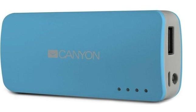 Powerbanky Canyon CNE-CPB44 Power Bank 4400mAh, modrá