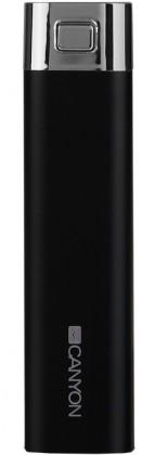 Powerbanky CANYON napájecí akumulátor 2600mAh, černý