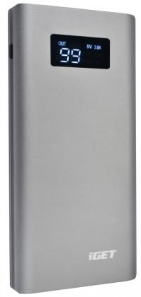 Powerbanky iGET POWER B-10000G OBAL POŠKOZEN