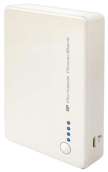 Powerbanky Power bank GP GP381 8400mAh bílý