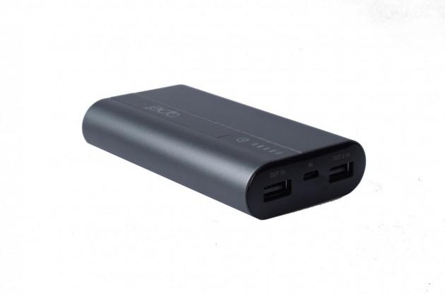 Powerbanky Powerbanka Apei Business MINI 7800mAh, hliníkový povrch, šedá