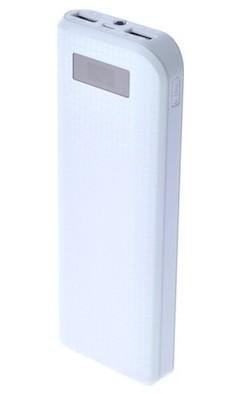 Powerbanky REMAX PowerBank 10 000 mAh, bílá barva