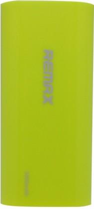 Powerbanky REMAX PowerBank 5 000 mAh plastic GREEN