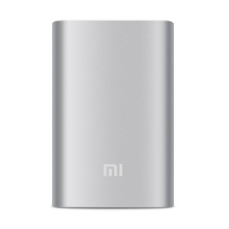 Powerbanky Xiaomi Power Bank 10000 mAh Silver