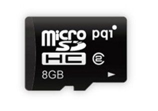 PQI micro SDHC 8GB class 4