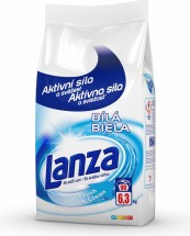 Prací prášek Lanza A000010388, Fresh&Clean, bílé, 6,3kg