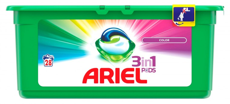 Pračka předem plněná Ariel Color - 28 kapslí