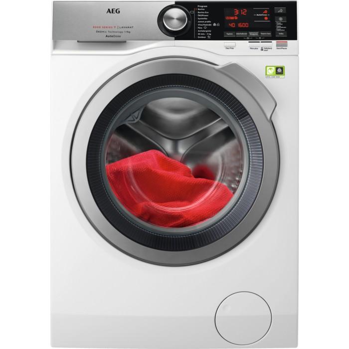 Pračka předem plněná Pračka s předním plněním AEG L8FBC69SCA, B, 9kg