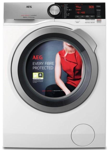 Pračka předem plněná Pračka s předním plněním AEG ÖKOMix L8FBE48SI, A+++, 8 kg POUŽITÉ